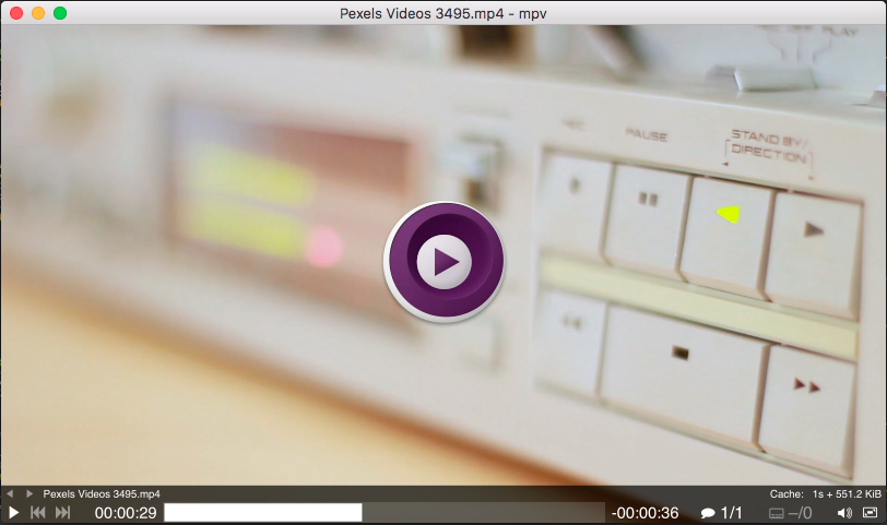 MPV Player | Professional video streaming platform